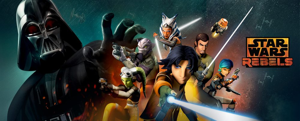 Star Wars Rebels on DisneyXD.