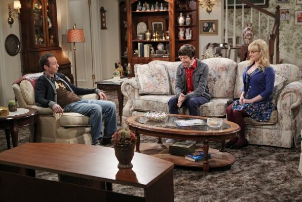 """Furnished in """"Jewish Mother Kitsch,"""" the Wolowitz family home looks like it was built in the '30s and decorated in the '70s."""