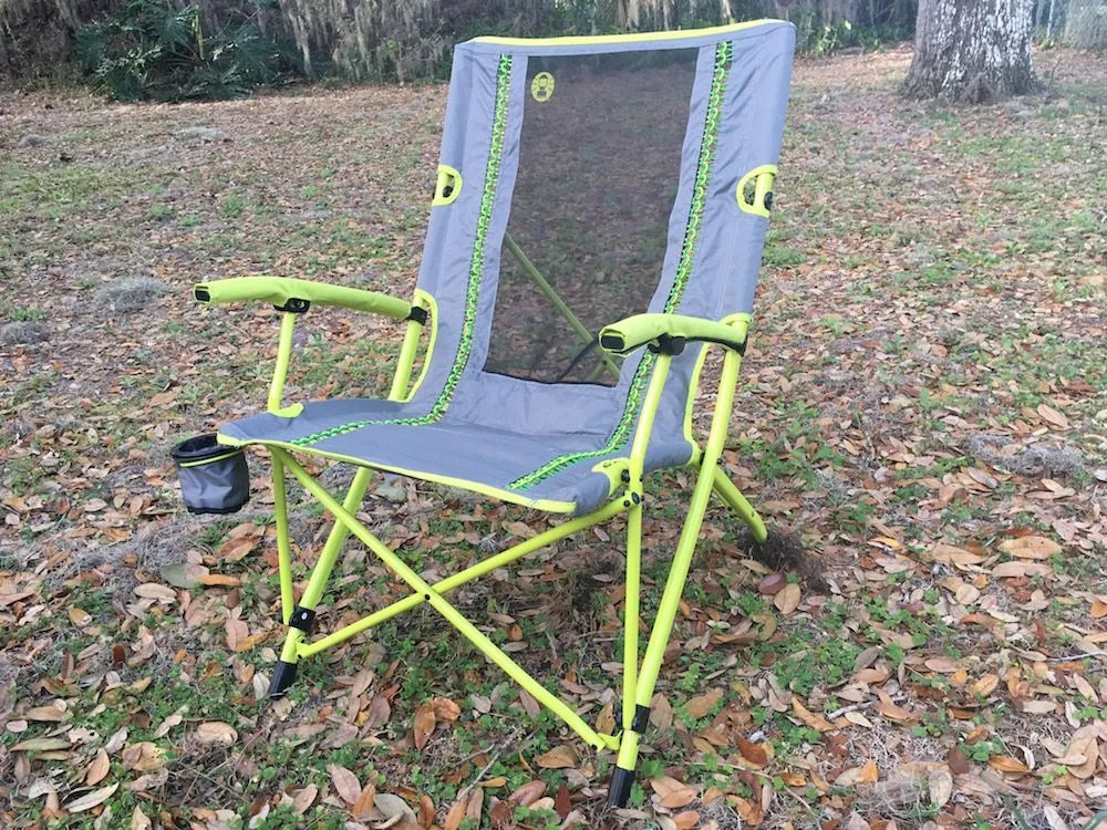 Coleman Interlock Suspension Breeze Chair