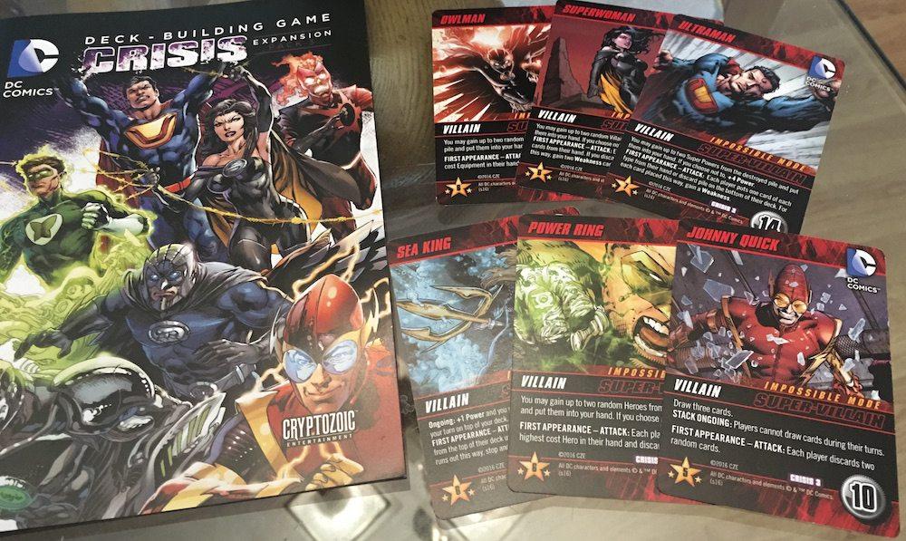 DC Crisis 3 Super-Villains