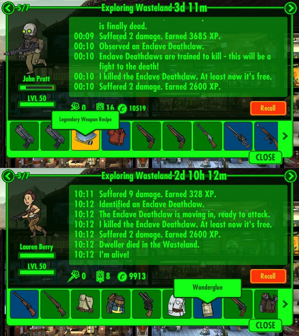 Commuter Gamer: Crafting Comes to 'Fallout Shelter' - GeekDad