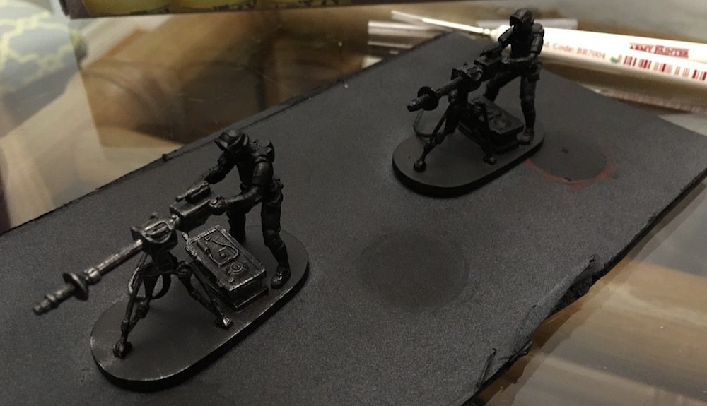 Imperial Assault E-Web drybrush