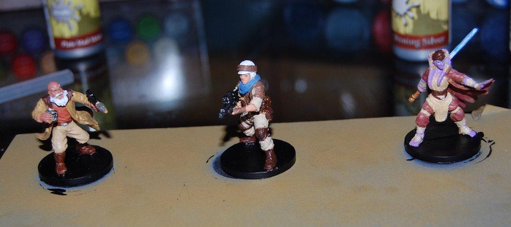 Imperial Assault Heroes Group Pre-dip