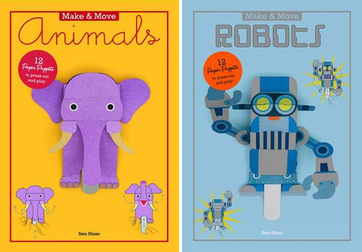 Make & Move: Animals and Robots