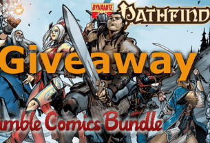 Pathfinder Comics Humble Bundle Giveaway