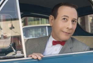 """Paul Reubens returns as his most famous character in """"Pee-Wee's Big Holiday,"""" streaming on Netflix in March. (Photo by Glen Wilson/Netflix)"""