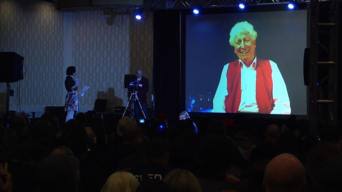 Doctor Who actor Tom Baker interviewed via Skype at (Re)Generation Who.