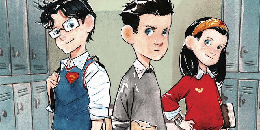 DC Comics' Big Three Are Big Kids in 'Study Hall of Justice'