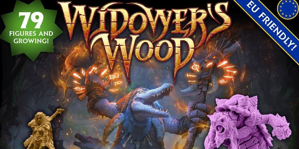 Kickstarter Tabletop Alert: Widower's Wood