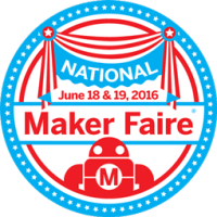 2016 National Maker Faire badge