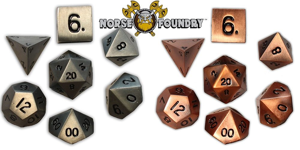 Exotic Meets Affordable – Norse Foundry Metal Dice