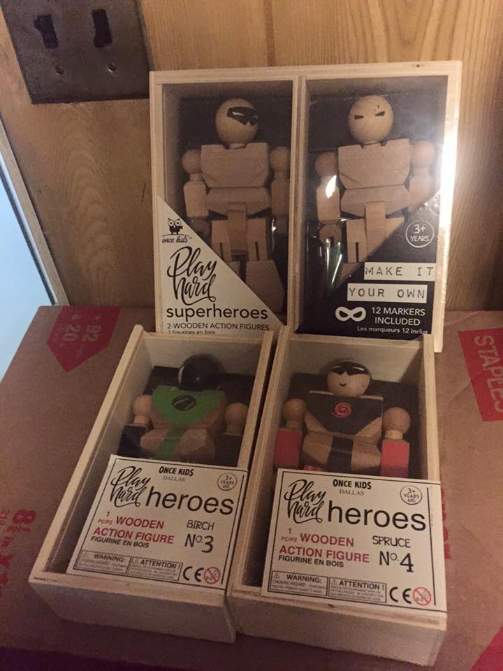 Naked heroes. Oh my.