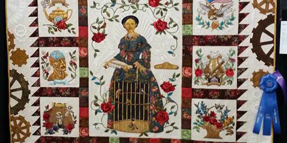 steampunk quilt