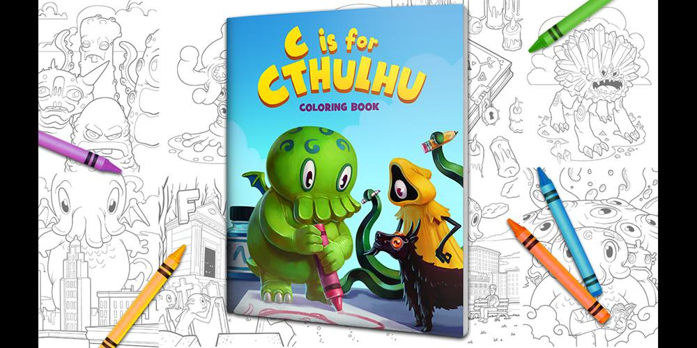 Kickstarter Alert: 'C Is for Cthulhu' Coloring Book