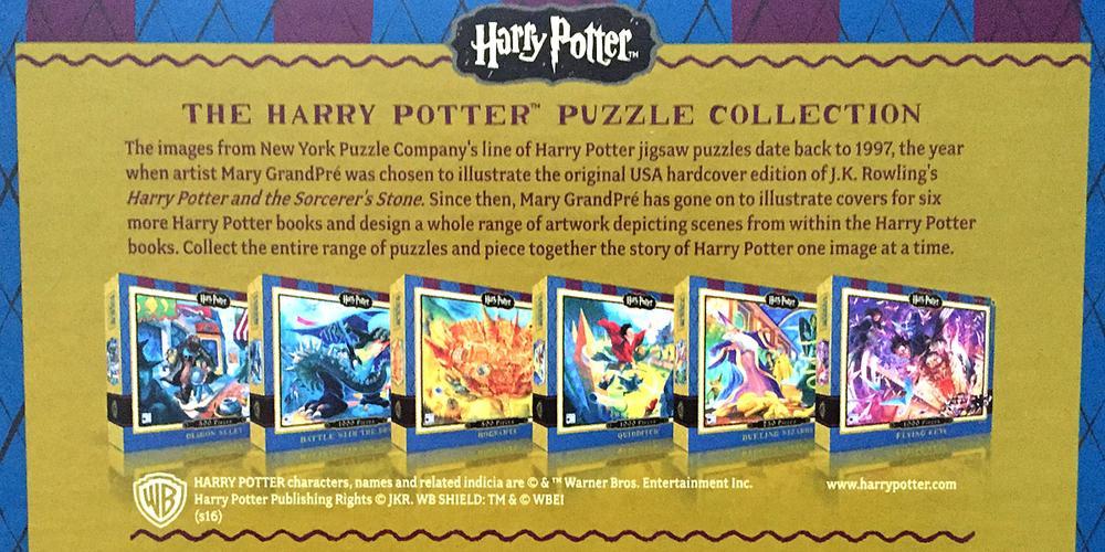 'Harry Potter' Literary Jigsaw Puzzles