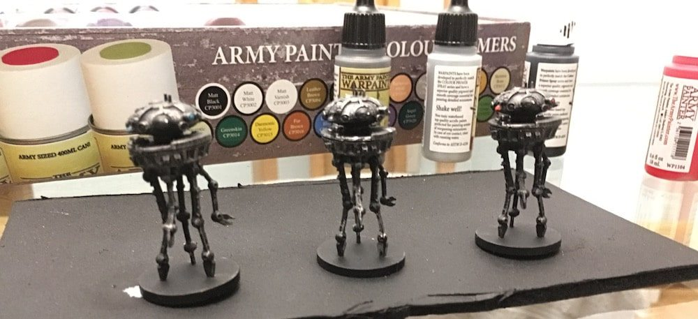 Imperial Assault Probe Droids Detailed