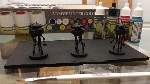 Imperial Assault Probe Droids Primed