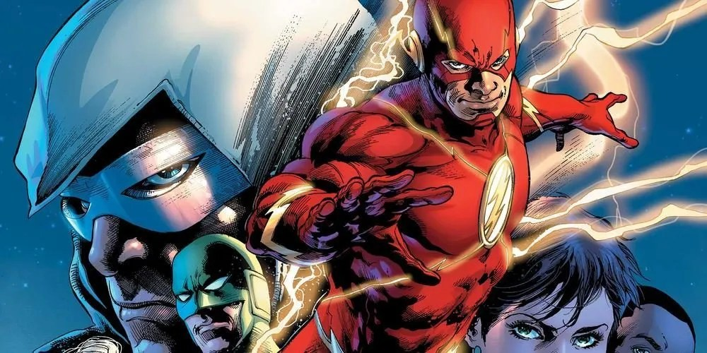 Flash #50 cover, copyright DC Comics