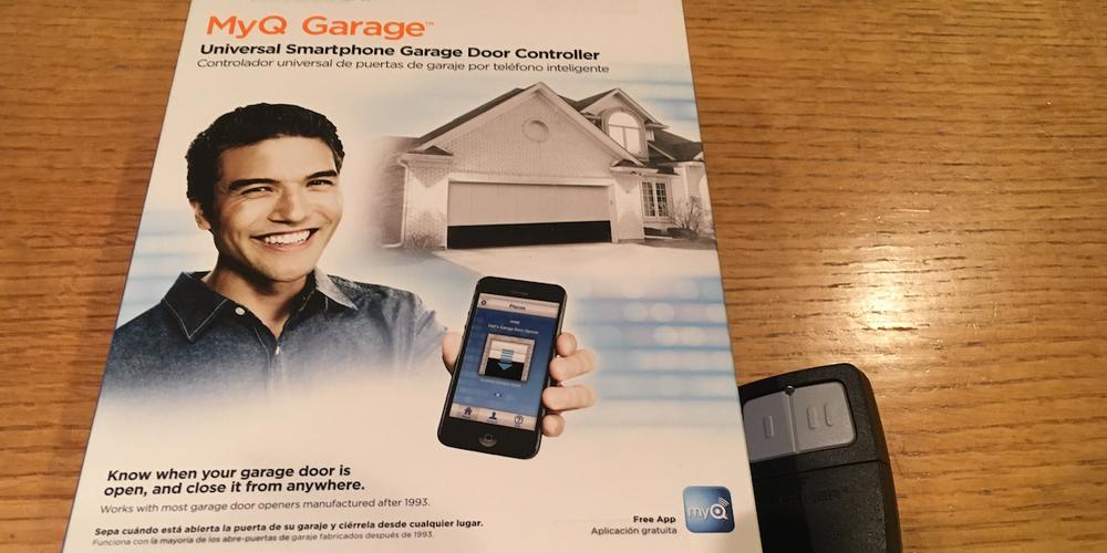 How Not to Install a MyQ Garage Door Opener