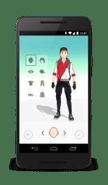 Pokemon Go Battle Avatar Customization