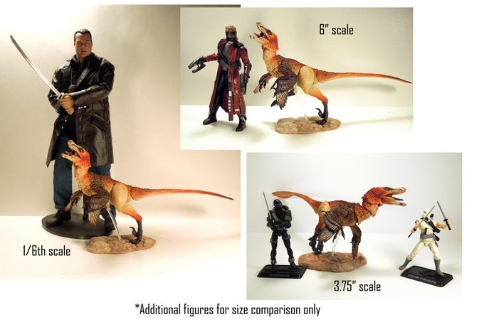Beasts of the Mesozoic Scale