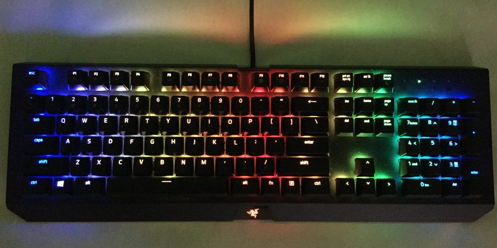 Game in Geek Style With the Razer BlackWidow X Chroma
