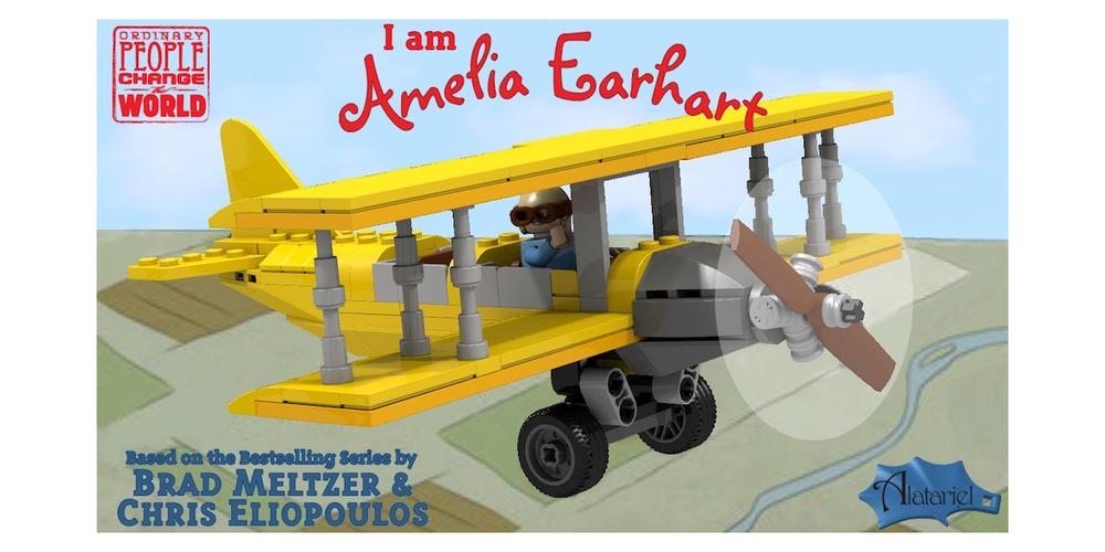 Vote for the 'I Am Amelia Earhart' LEGO Set