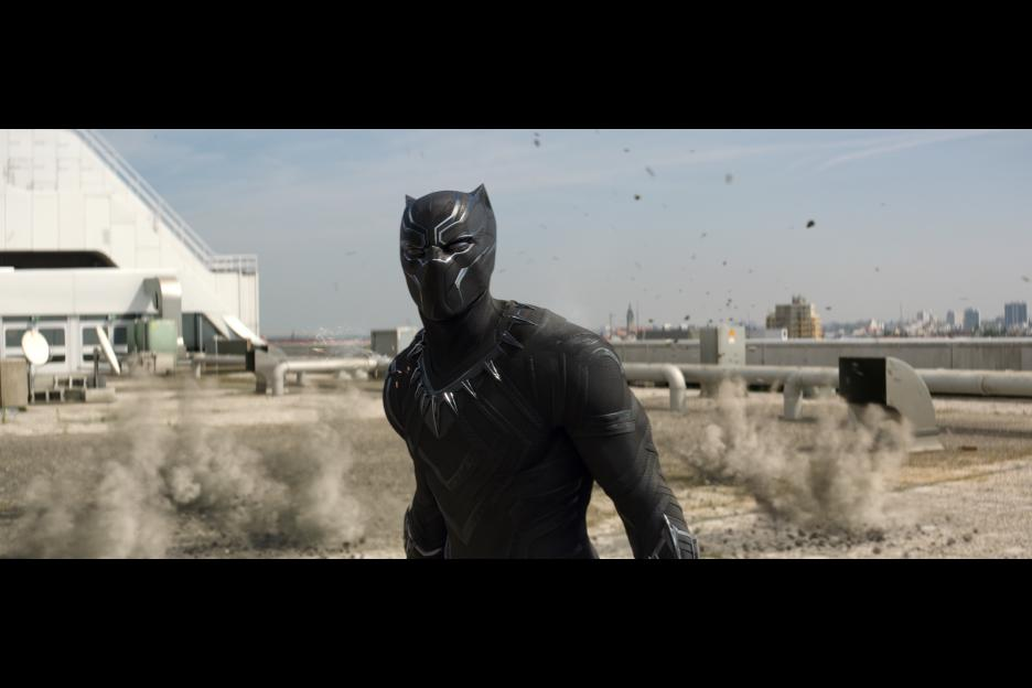 Chadwick Boseman as T'Challa is a great addition to the Marvel Cinematic Universe. © Marvel 2016