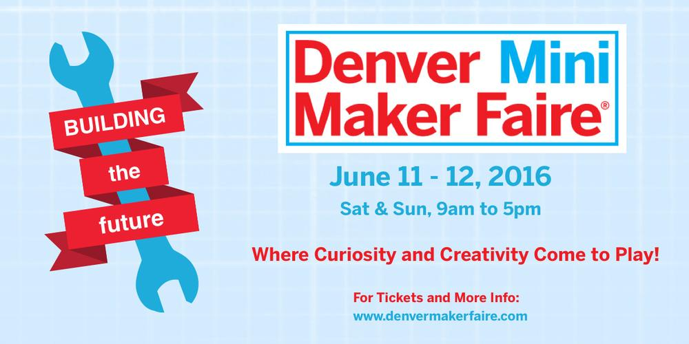 Denver Mini Maker Faire 2016