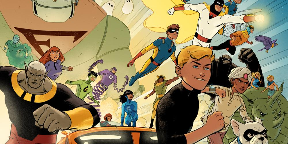 Saturday Morning Cartoons Come to Your Comic Shop With 'Future Quest'