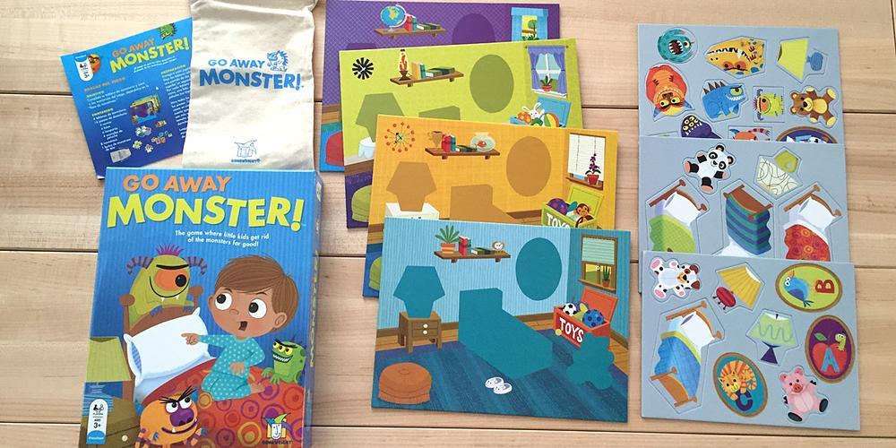Toddler Tabletop: 'Go Away Monster'
