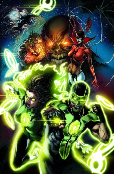 Green Lanterns #1, copyright DC Comics