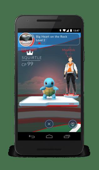 Pokemon Go Gym Ownership