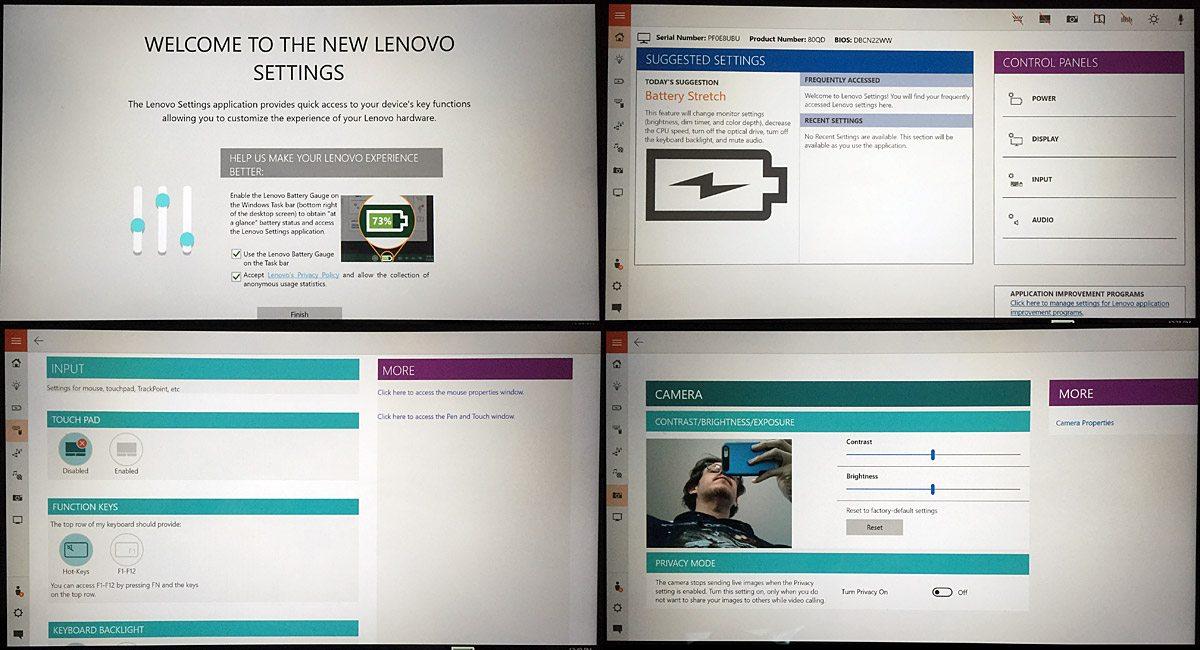 LenovoYoga700-Software