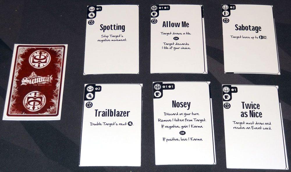 Summit Karma cards