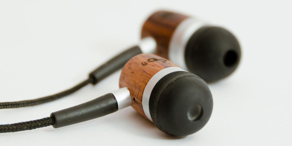 ZealSound Wood Headphones Product Shot