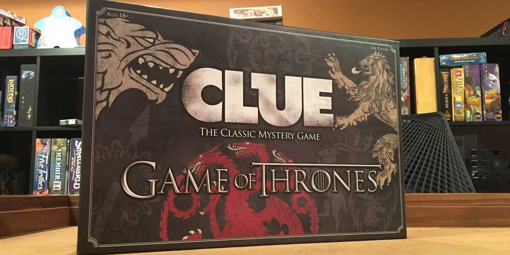 'Clue Game of Thrones' Delivers Two Great Games in One Box