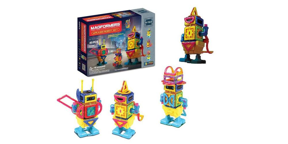 Magformers Walking Robot Set Attracts Attention