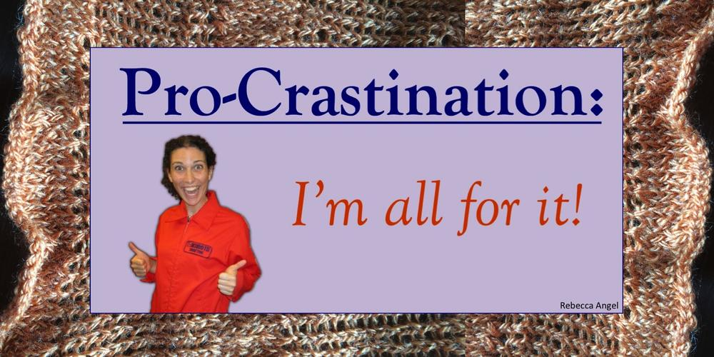 pro crastination knit