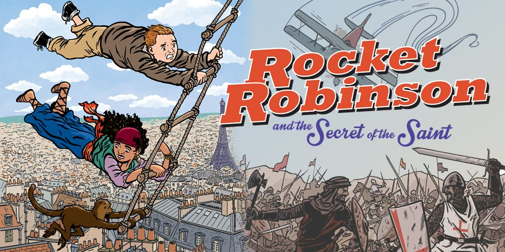 Kickstarter Alert: 'Rocket Robinson and the Secret of the Saint'