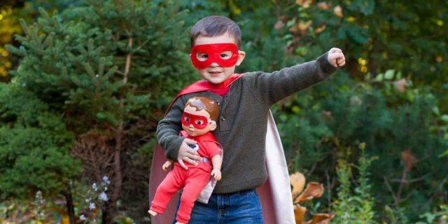 Wonder Crew, dolls for boys