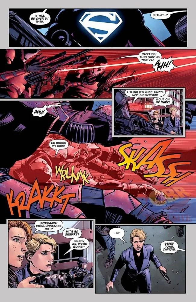Panel from Action Comics #957, copyright DC Comics