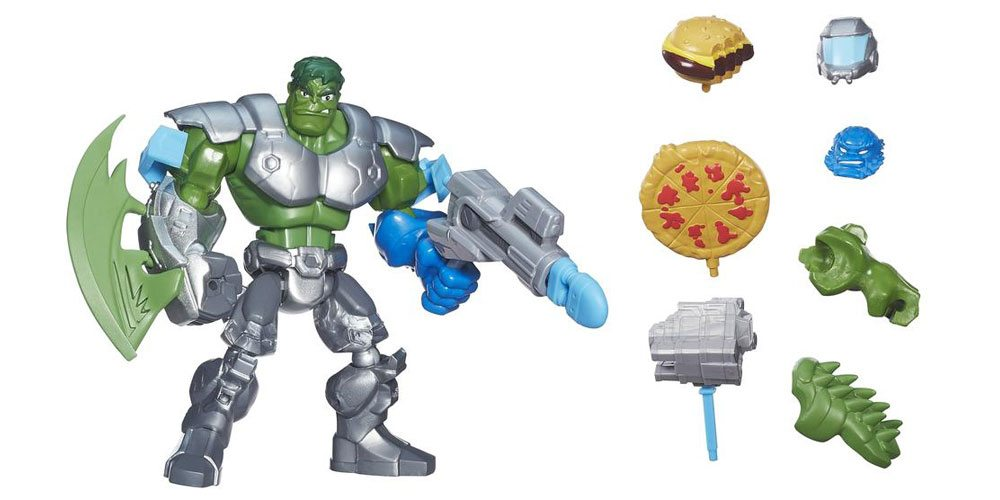 Marvel Gets Small With Super Hero Masher Micros