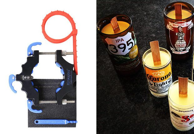 GeekDad Daily Deal: Kinkajou Bottle Cutting and Candle Making Kits