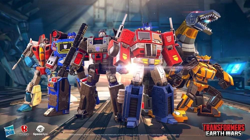 Transformers: Earth Wars Group Shot