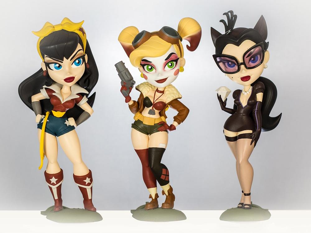 Cryptozoic Bombshell Vinyl Figures Are an Explosion of Style