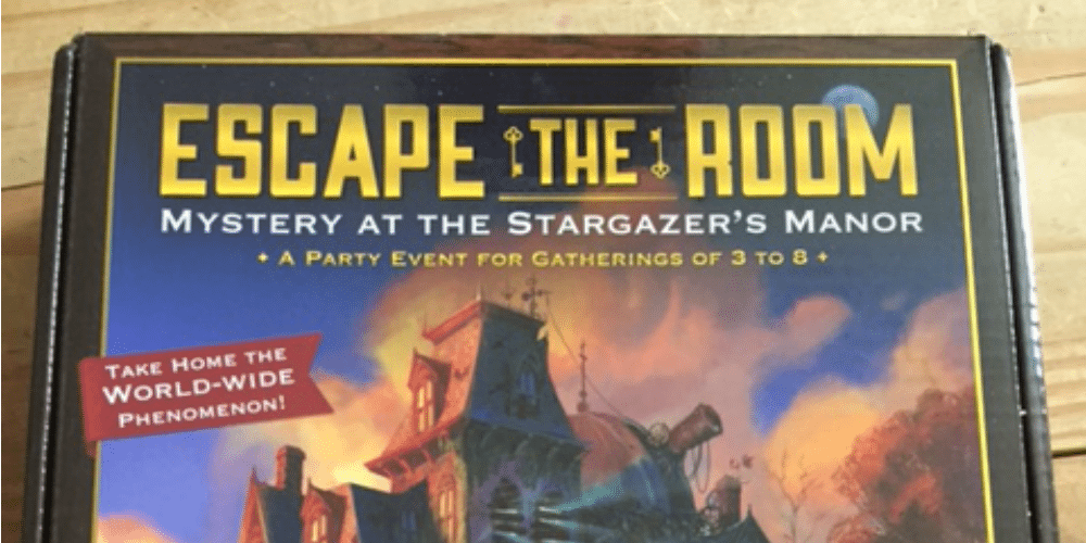 ThinkFun's 'Escape the Room: Mystery at the Stargazer Manor'