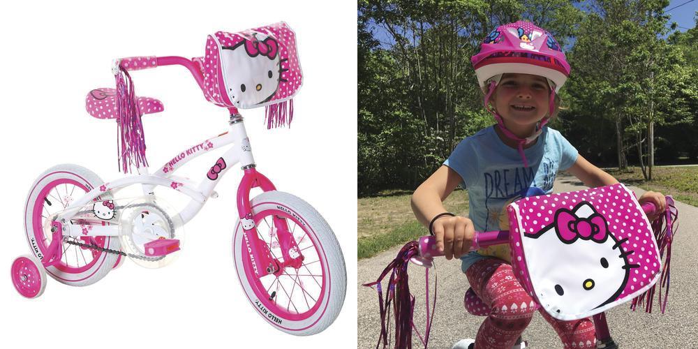 Kicking Off Biking Season With Dynacraft's New Hello Kitty Bike