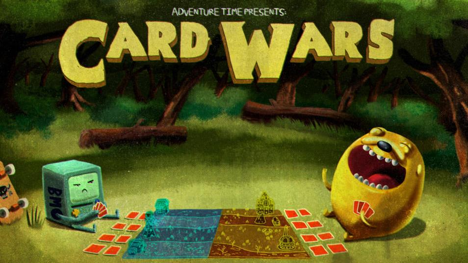 'Adventure Time: Card Wars' on DVD: Review and a Giveaway