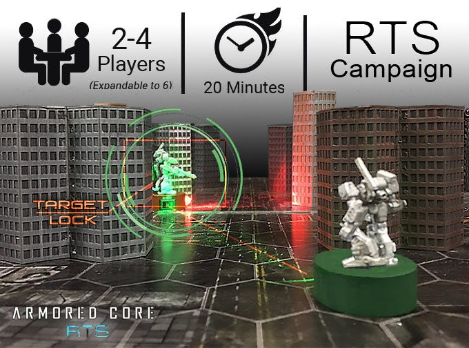 Armored Core RTS Action